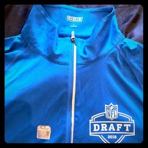 OGIO NFL Blue Quarter Zip Pullover